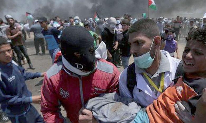 L'armée israélienne tue au moins 52 Palestiniens