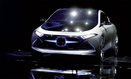 La première Mercedes «Made in France» est une électrique