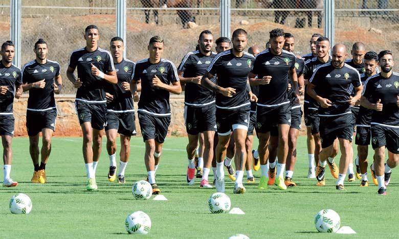 Le stage des Lions de l'Atlas a débuté à Rabat