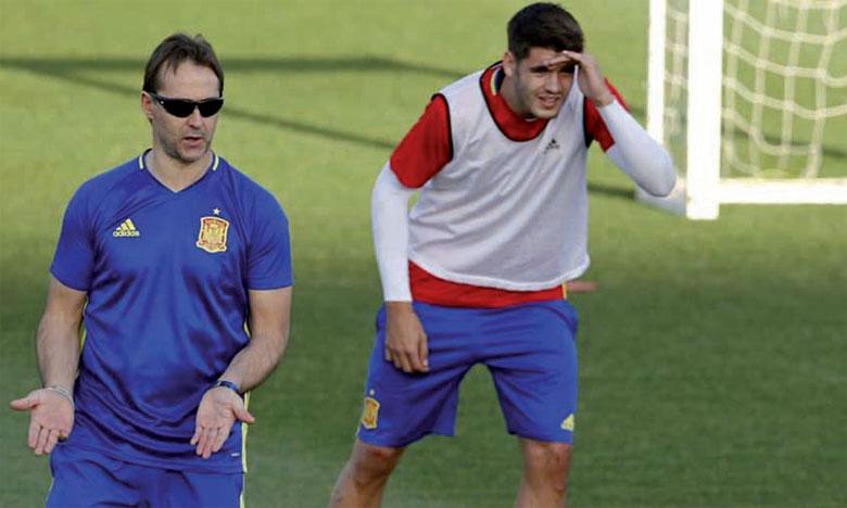 Lopetegui dévoile la liste de l'Espagne pour le Mondial