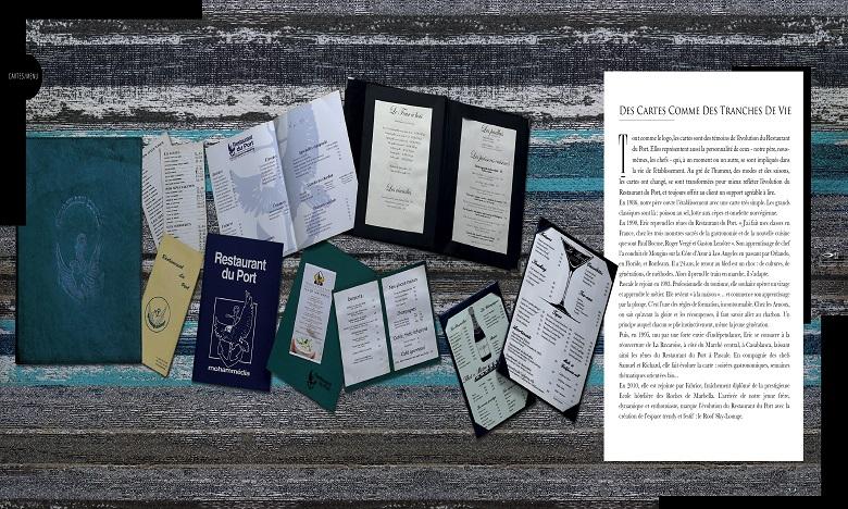 Le Restaurant du Port de Mohammédia en livre