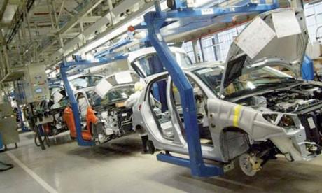 Les exportations fortement soutenues  par l'automobile