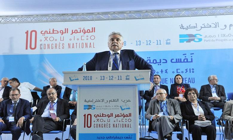 Ouverture des travaux du 10e congrès national du PPS