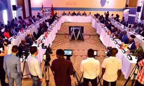 La déclaration finale se félicite du soutien  enthousiaste et sans équivoque du Ghana