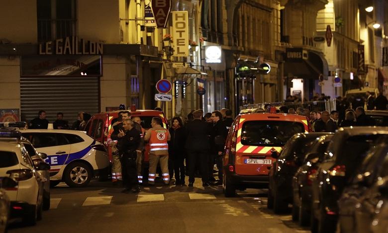 Le procureur de la République de Paris François Molins avait annoncé que la section antiterroriste du parquet de Paris a été saisie après cette agression au couteau. Ph. AFP