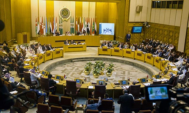 Dans une résolution adoptée à l'issue de cette réunion, le Conseil a mis l'accent sur le message royal adressé par S.M. le Roi, au Président de l'Etat de Palestine, Mahmoud Abbas. Ph : MAP