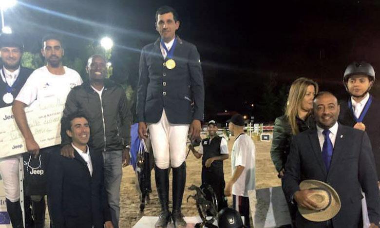 Farid Amanzar domine l'épreuve reine,  en présence de Abdelkébir Ouaddar