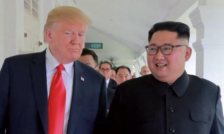 «Il n'y a plus de menace nucléaire de la part  de la Corée du Nord», affirme Donald Trump