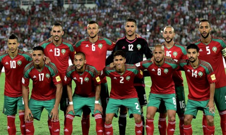 Match nul (1-1) à la mi-temps entre le Maroc et l'Espagne