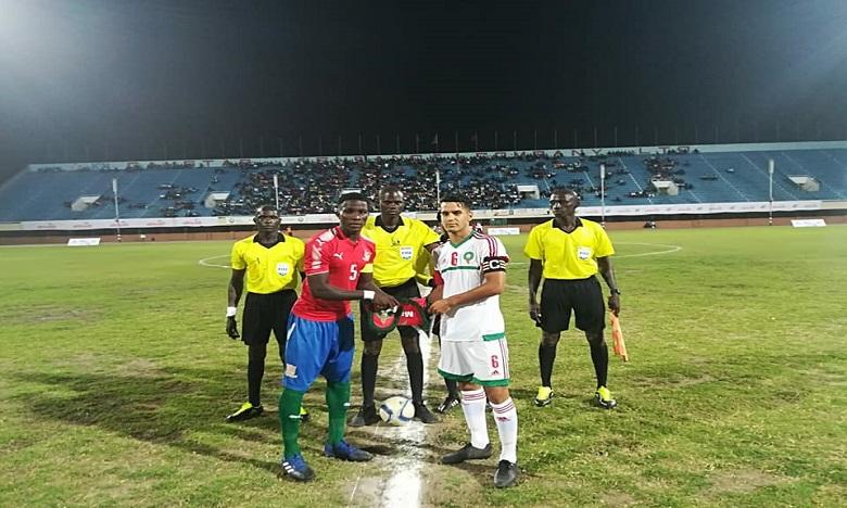 La sélection nationale U23 s'incline face à la Gambie (0-1)