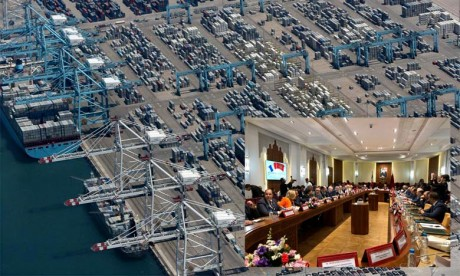 Phillipe Dallier : Tanger Med, un hub portuaire «impressionnant»