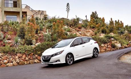 Véritable succès commercial, la Nissan Leaf a atteint les 100.000 immatriculations en Europe.