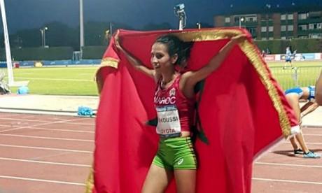 Kaoutar Farkoussi offre au Maroc sa 6e médaille d'or