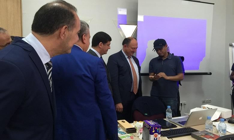 Willy Borsus visite le Centre Mohammed VI de soutien à la microfinance solidaire