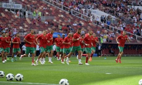 Les Lions de l'Atlas menés au score à la mi-temps par le Portugal