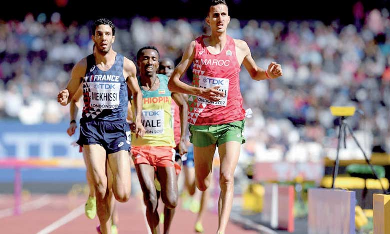 Soufiane El Bakkali sera le grand favori dans la course du 3.000 mètres steeplechase.