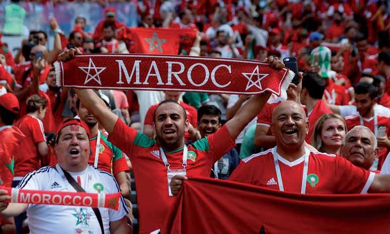 Le «Midnight Express russe» des fans marocains, 22 heures  de train en passant par la Biélorussie et la Lituanie