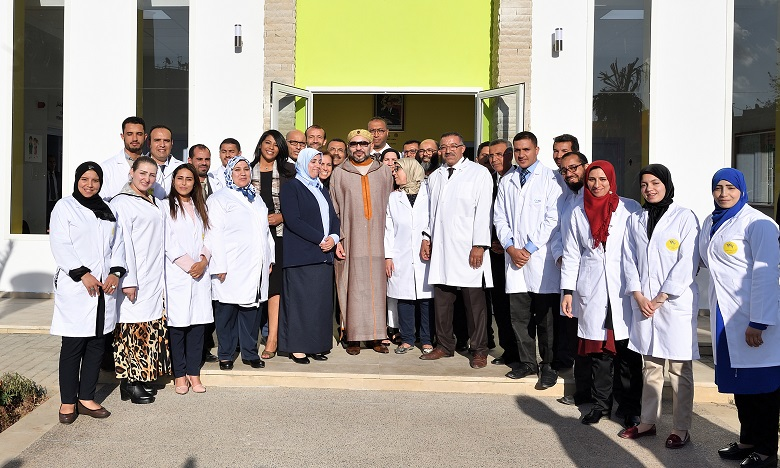 S.M. le Roi inaugure un Centre de formation et d'insertion des femmes et des jeunes à Tit Mellil dans la province de Mediouna