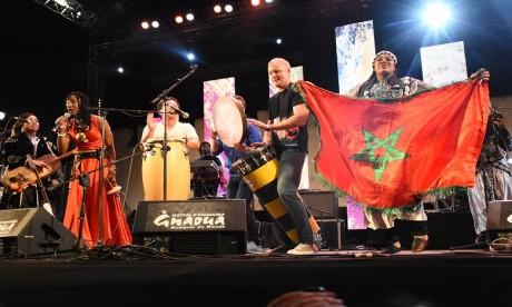 Fatoumata Diawara se déchaîne sur scène