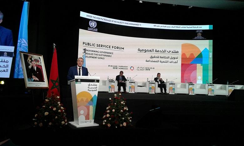 La transformation de la gouvernance administrative et les objectifs de développement durable en débat à Marrakech