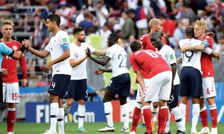 Le match France- Danemark déchaine  la presse