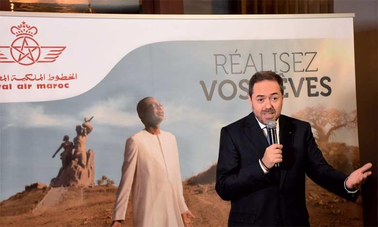 Hamid Addou, président-directeur général de Royal Air Maroc. Ph. Saouri