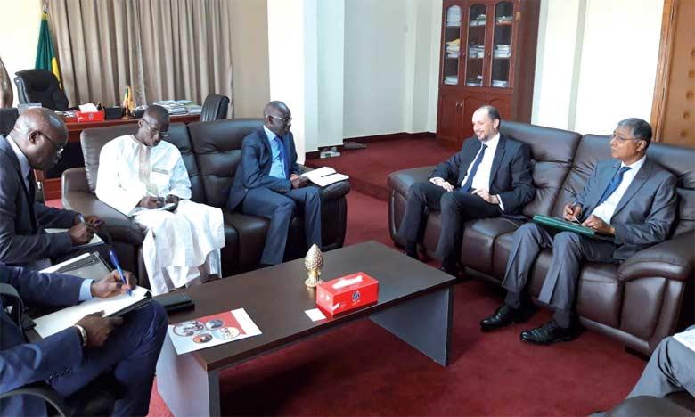 Réunions consacrées au suivi des accords et conventions bilatéraux signés en marge des Visites Royales au Sénégal
