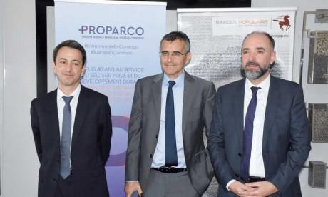 Proparco a conclu deux nouveaux partenariats au Maroc. Le premier avec le groupe BCP et le second avec Al Amana Microfinance. Ph. Saouri