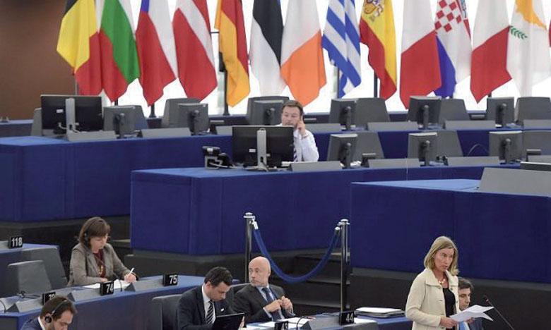 Le chef de la diplomatie, Federica Mogherini, a défendu un mécanisme de 10,5 milliards d'euros sur la période2021-2027 pour permettre un co-financement des missions militaires.                                                                  Ph. AFP