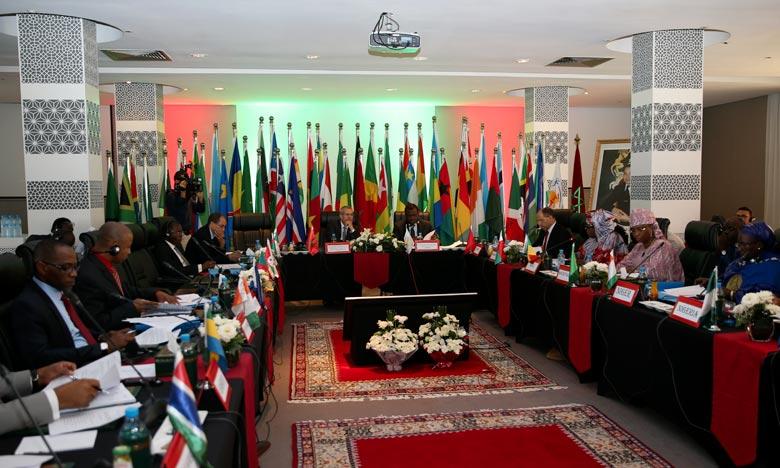 «Notre mobilisation générale et notre volonté permettront, sans aucun doute, la consolidation des acquis du Cafrad, le renforcement de ses capacités, et la promotion d'activités génératrices de revenus», a dit Mohamed Ben Abdelkader. Ph : MAP