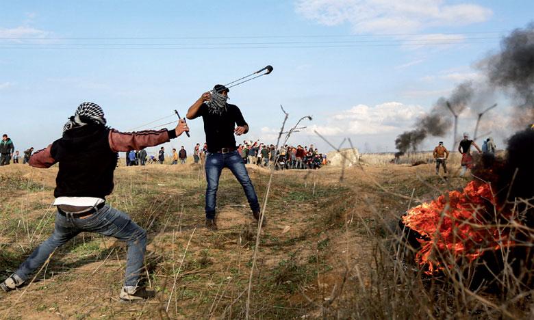 Au moins 125 Palestiniens ont été tués par des tirs israéliens depuis le début, le 30 mars, des manifestations dans l'enclave palestinienne contre plus de 10 ans de blocus israélien.                                                                                                                                                  Ph. DR.