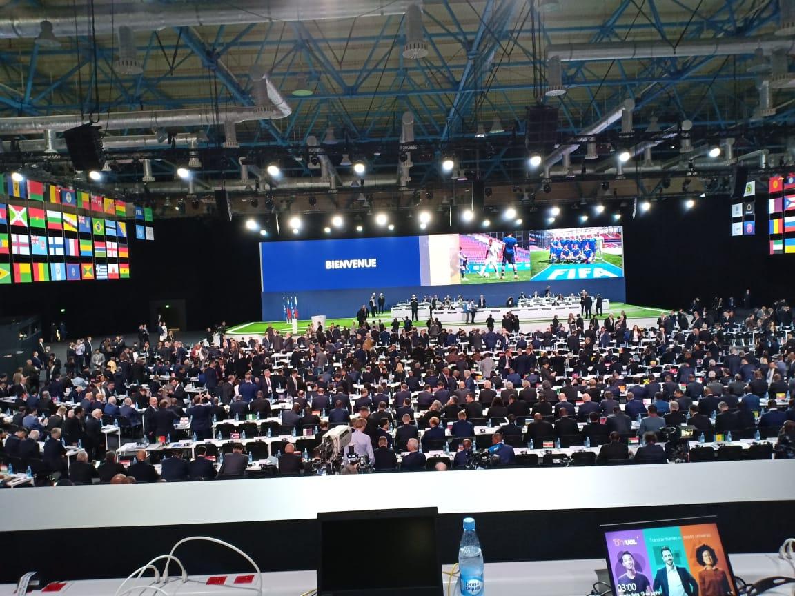 Le 68e congrès de la FIFA lance ses travaux