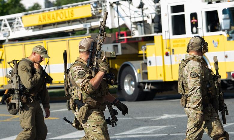 Au moins 5 morts dans la fusillade survenue dans un journal du Maryland