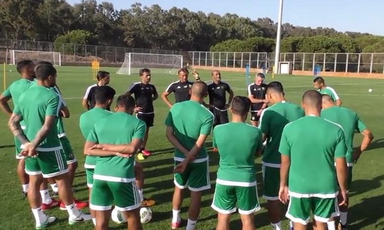 La sélection marocaine reprend ses entraînements