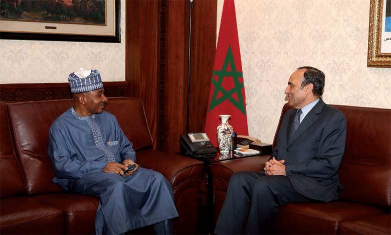 L'ambassadeur du Nigeria au Maroc se félicite de l'évolution constante des relations de coopération bilatérales