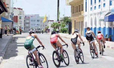 Larache organise la 13e édition de son triathlon international le 30 juin 2018
