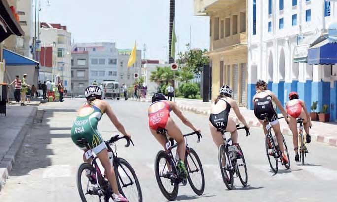 Larache organise la 13e édition de son triathlon international le 30 juin 2018