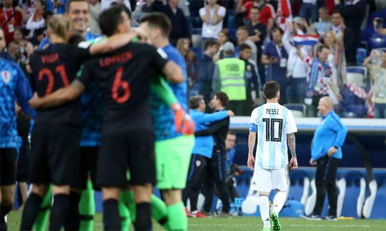 La Croatie ramène l'Argentine sur terre, la France assure l'essentiel face au Pérou
