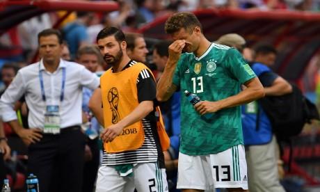 L'Allemagne tenante du titre éliminée