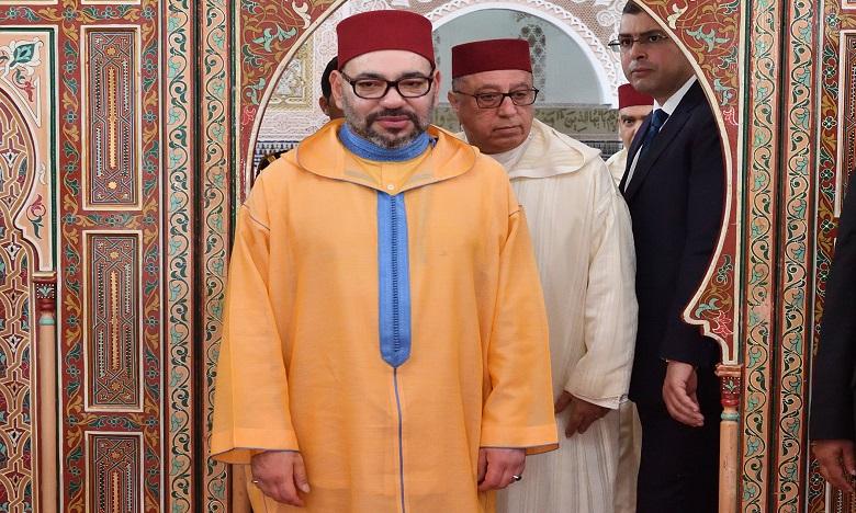 S.M. le Roi accomplit la prière du Vendredi à la mosquée Al Ikhlass à Casablanca
