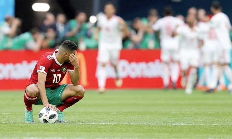 Battus par l'Iran, les Lions de l'Atlas hypothèquent  leurs chances de qualification