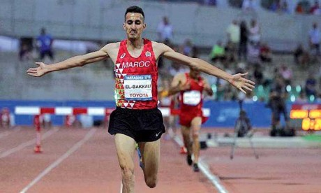 Soufiane El Bakkali et Younes Essalhi remportent l'or en athlétisme