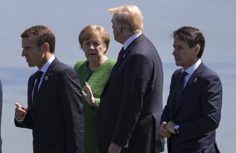 Quatre pays contre le retour de la Russie au sein du G7