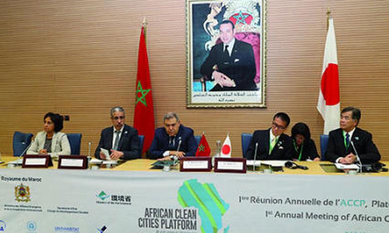 La Plateforme africaine des villes a été organisée par l'Agence japonaise  de la coopération, le Programme de l'ONU pour l'environnement et de l'ONU-Habitat. Ph. MAP