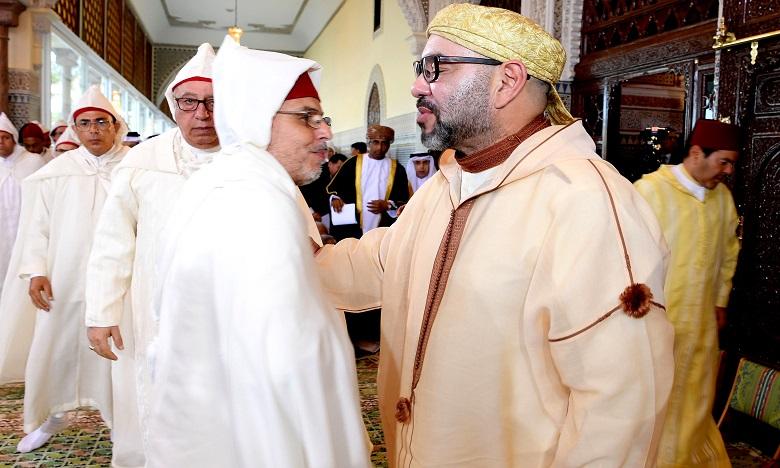 S.M. le Roi, Amir Al Mouminine, préside à Rabat la sixième causerie religieuse du mois sacré du Ramadan