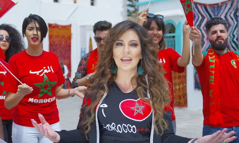 "Fatima Zahra Laaroussi présente sa dernière chanson ""Morocco"""