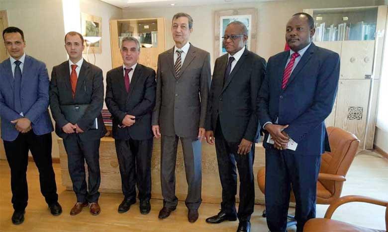 Les délégations du Maroc et du G5 Sahel ont évoqué à Rabat l'initiative «Adaptation de l'agriculture africaine» lancée par le Maroc à travers des programmes de financement et de renforcement des capacités. Ph. DR