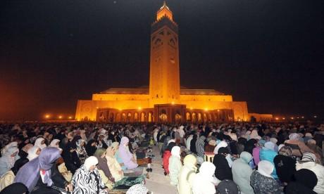 10 derniers jours du Ramadan : grande affluence des fidèles vers les mosquées