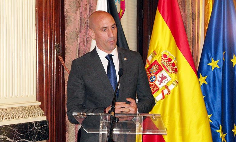 «Pour RFEF, cela aurait été une grande nouvelle de voir le Maroc, un pays frère, être choisipour abriter la Coupe du monde de football 2026», a insisté Luis Rubiales. Ph : DR