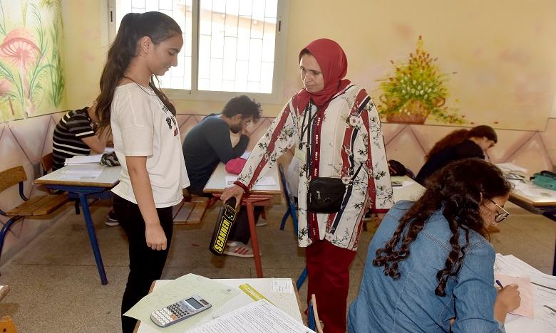 Les cadres pédagogiques et administratifs ont veillé au bon déroulement des examens du Bacclauréat. Ph. Kartouch